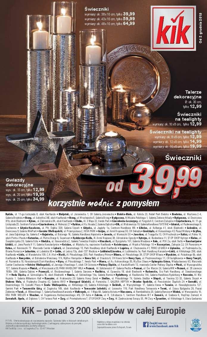 Gazetka promocyjna KiK do 08/12/2015 str.11