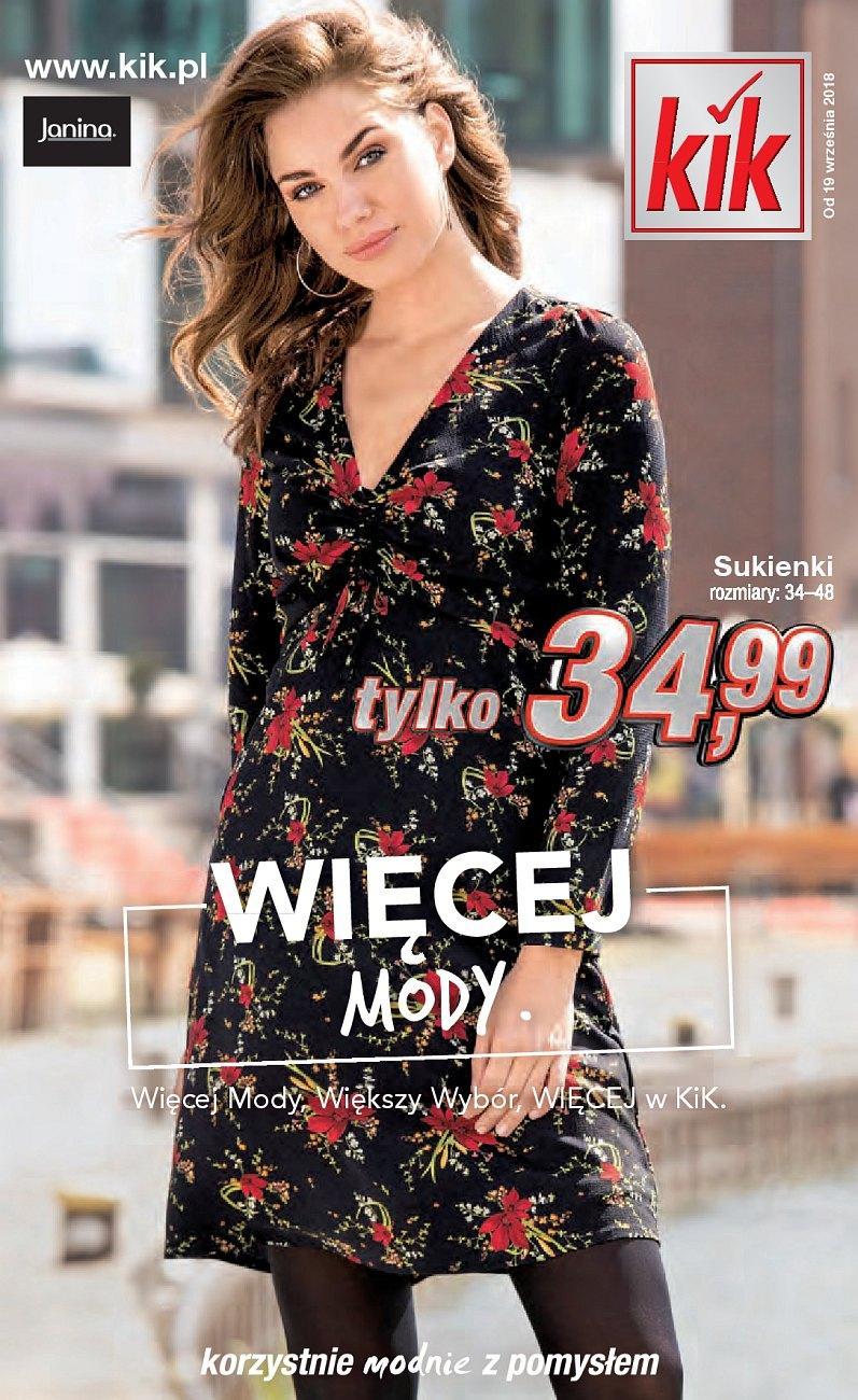 Gazetka promocyjna KiK do 20/10/2018 str.1