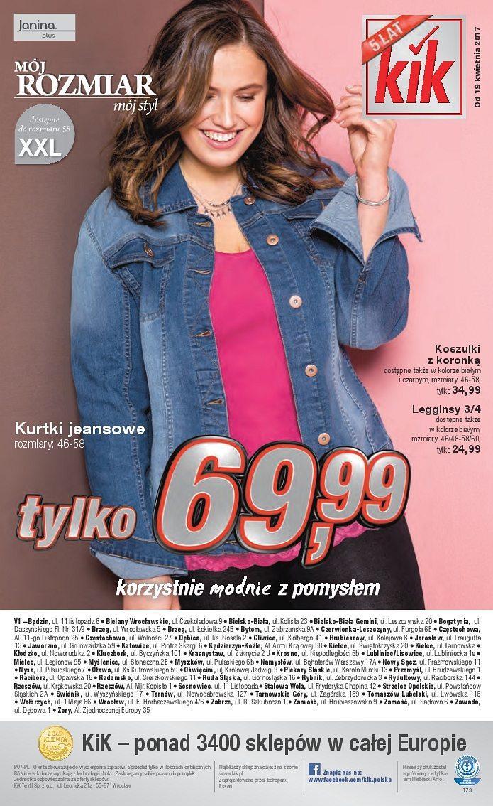Gazetka promocyjna KiK do 30/04/2017 str.15