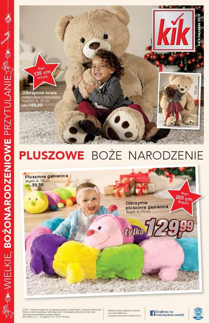 Gazetka promocyjna KiK do 18/11/2015 str.15