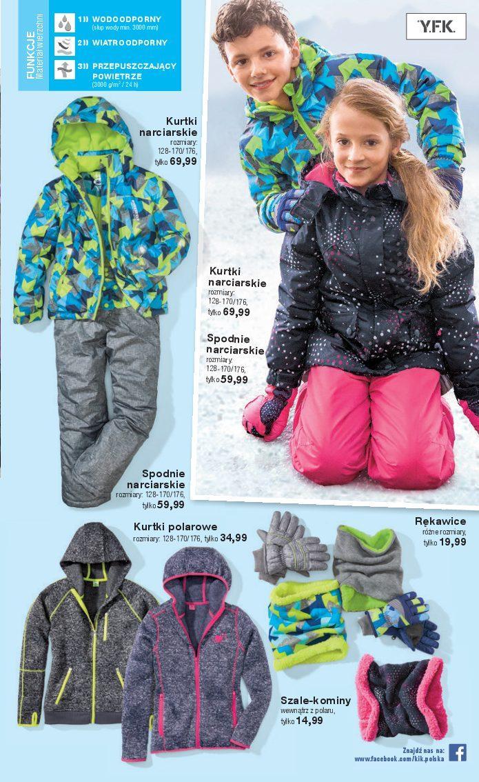 682c67268ee443 Gazetka promocyjna KiK do 04/06/2017 str.11. Produkty w gazetce: Kurtka  narciarska, Spodnie narciarskie ...