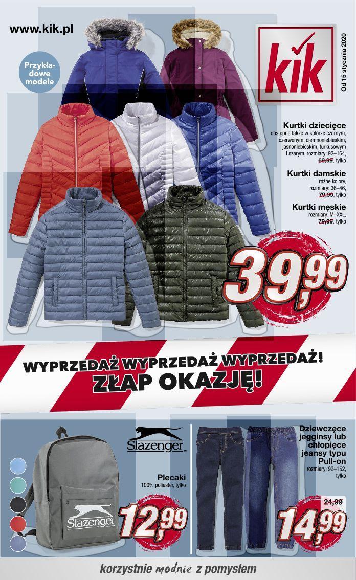 Gazetka promocyjna KiK do 24/02/2020 str.1