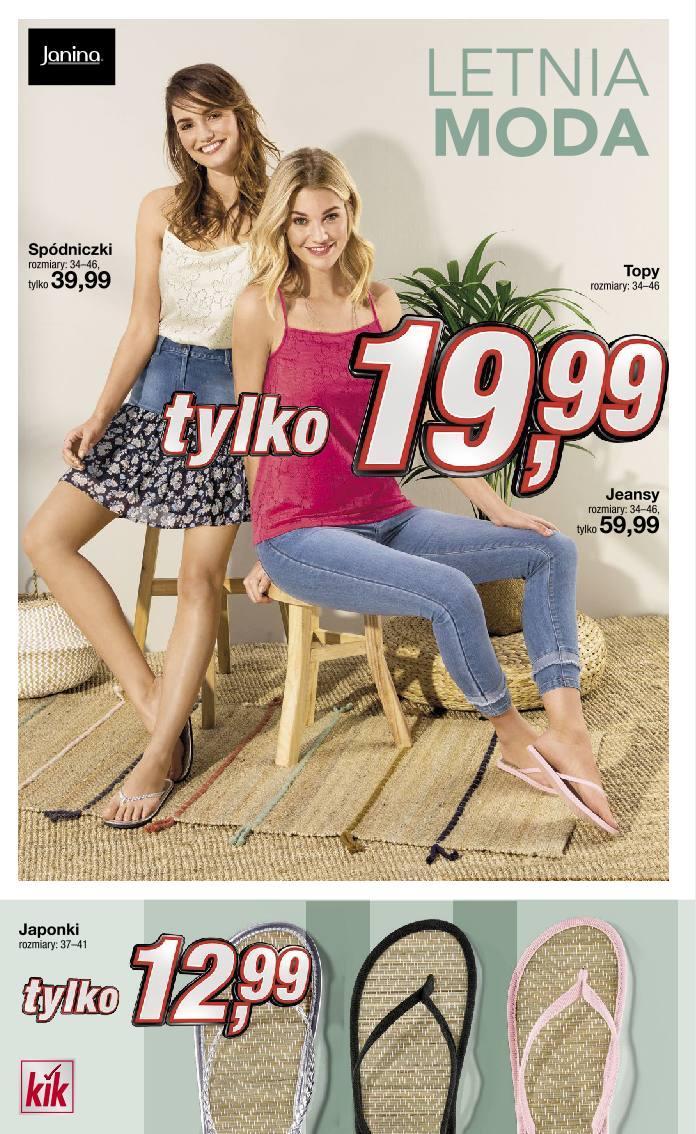 Gazetka promocyjna KiK do 20/06/2019 str.1