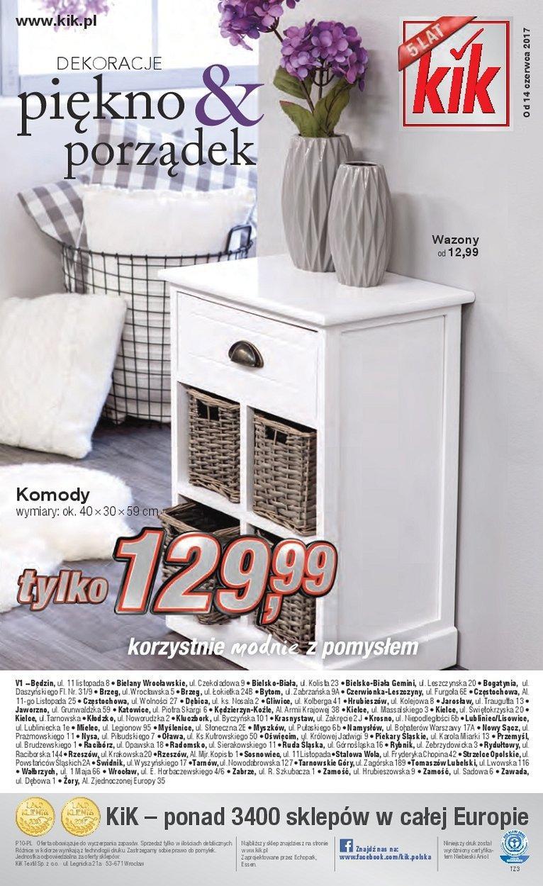 Gazetka promocyjna KiK do 13/07/2017 str.15