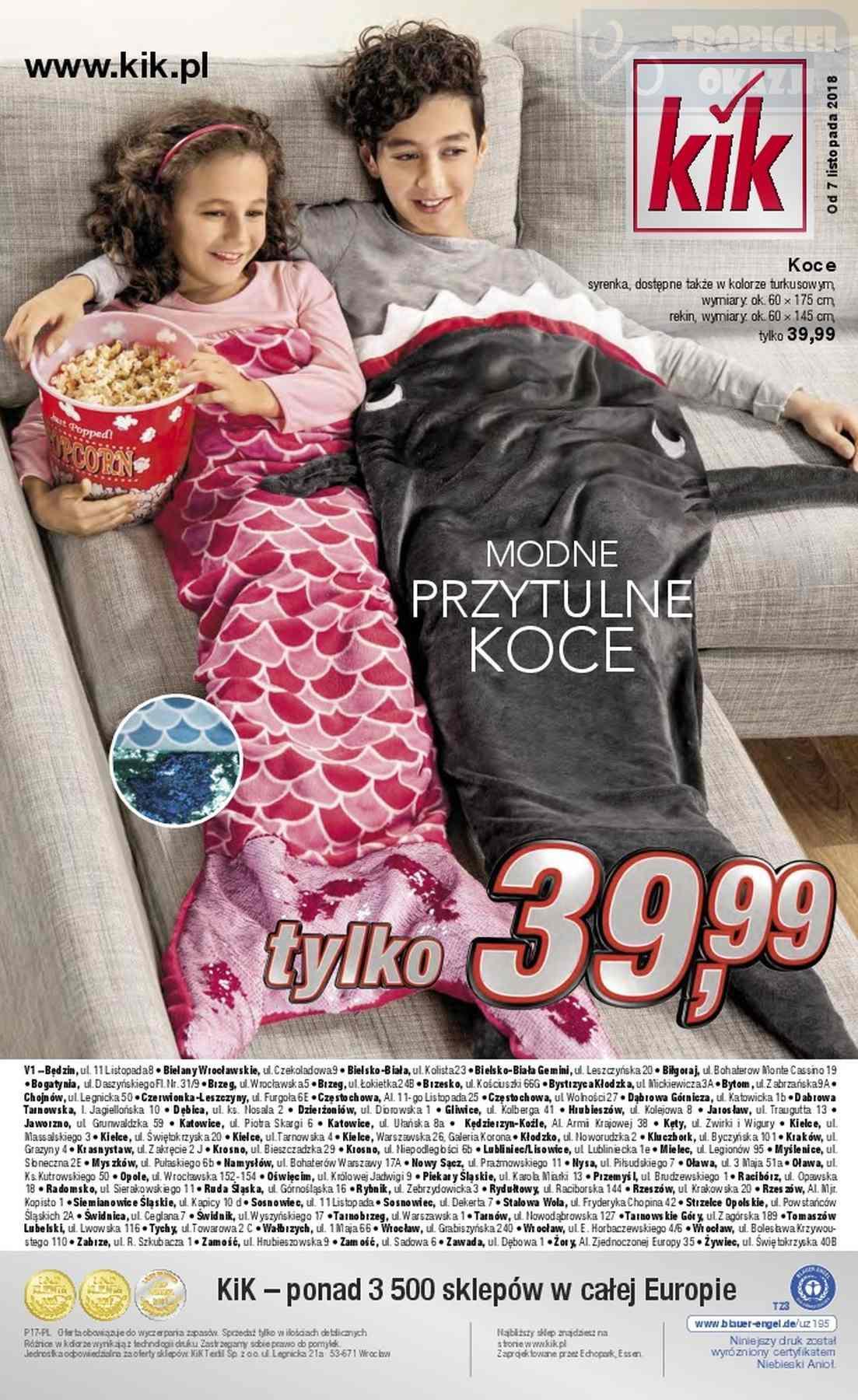 Gazetka promocyjna KiK do 12/11/2018 str.16
