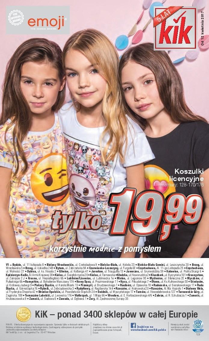 Gazetka promocyjna KiK do 25/04/2017 str.15