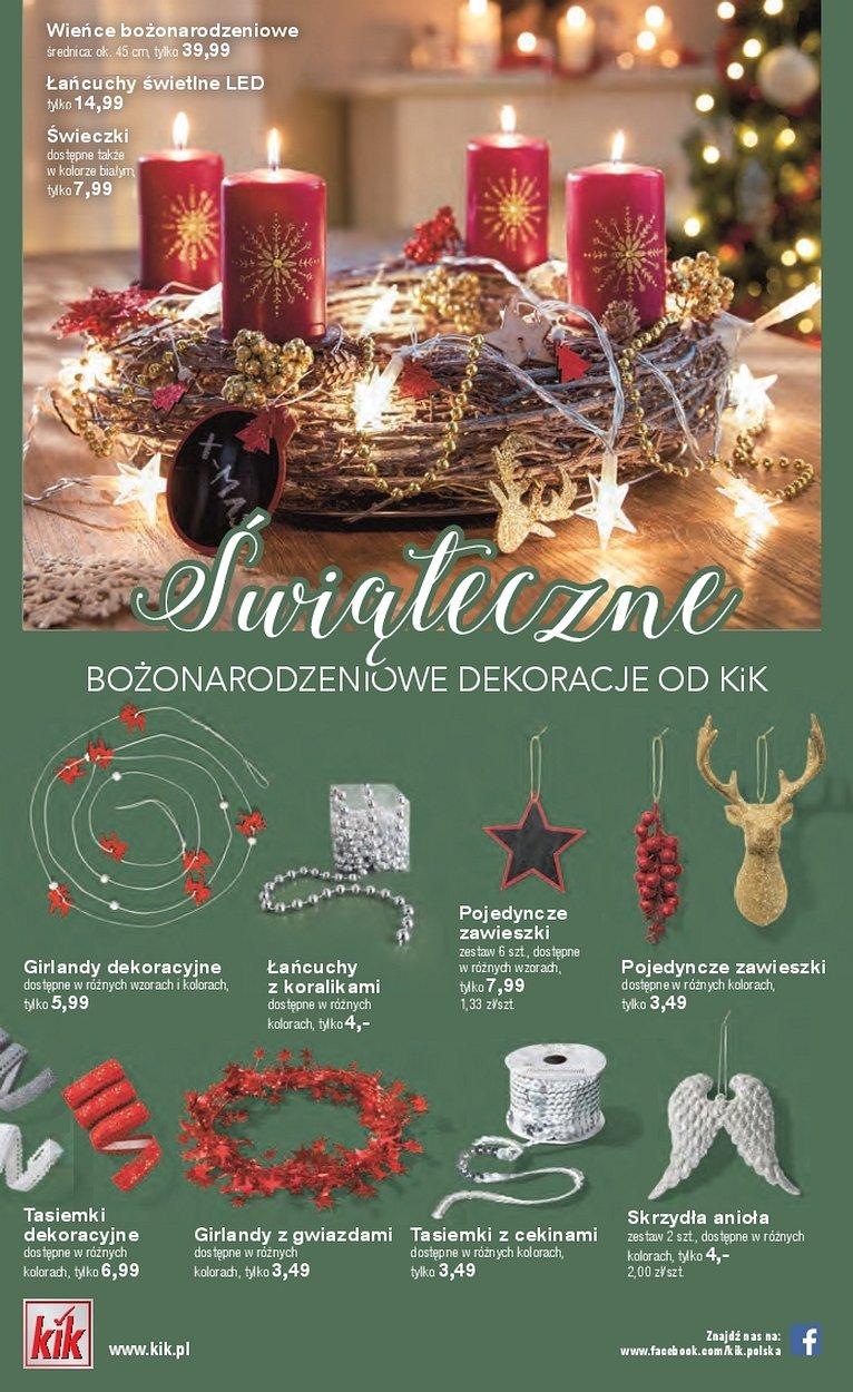 Gazetka promocyjna KiK do 24/12/2017 str.1