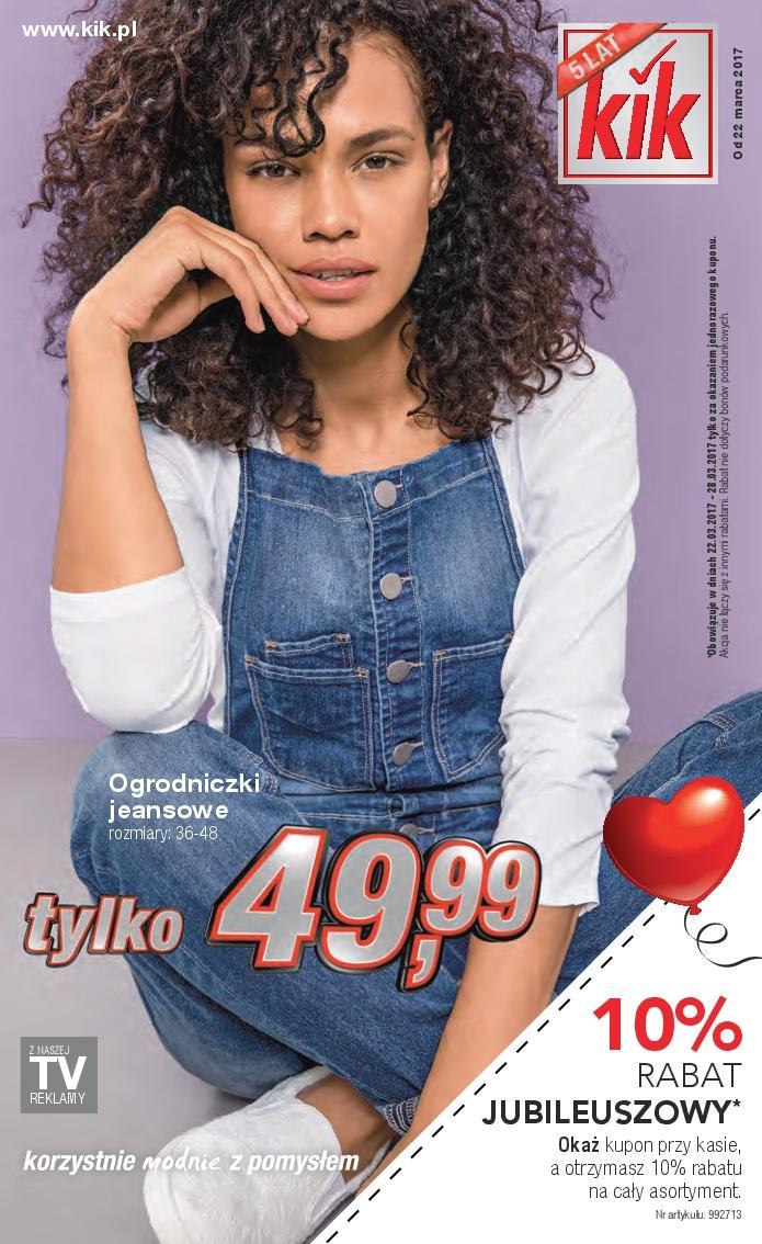 Gazetka promocyjna KiK do 04/04/2017 str.0
