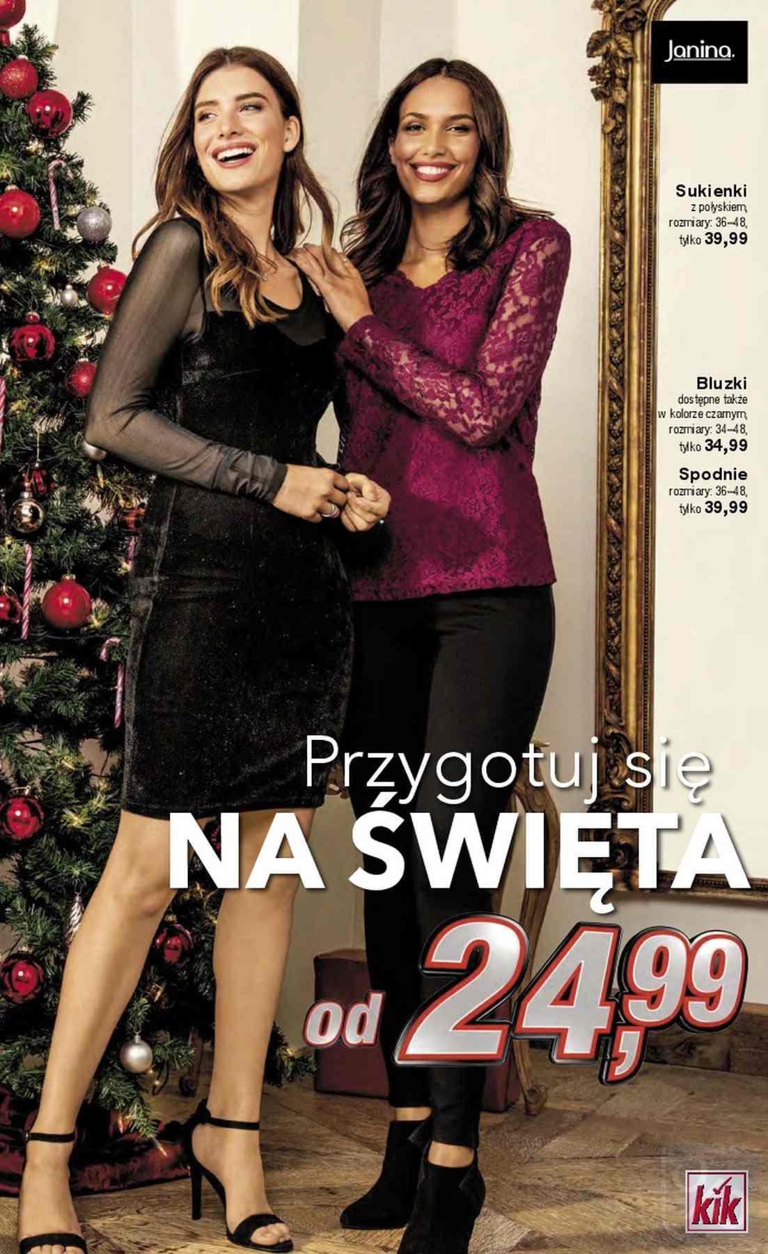 Gazetka promocyjna KiK do 06/01/2019 str.2