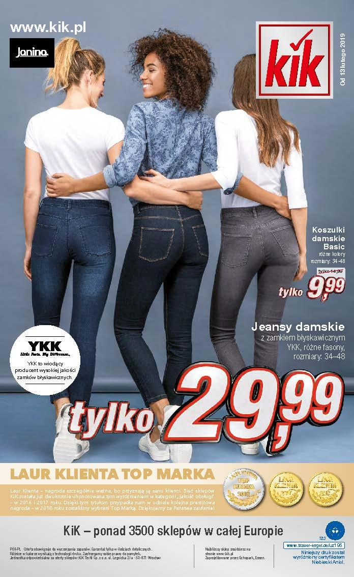 Gazetka promocyjna KiK do 03/03/2019 str.11