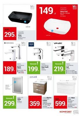 Komfort łazienki Ostrołęka Gazetka Promocja Oferta Od 04032019
