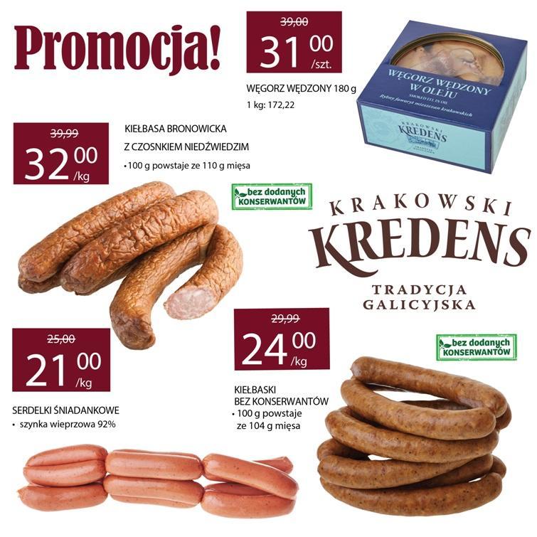Gazetka promocyjna Krakowski Kredens do 31/08/2016 str.1