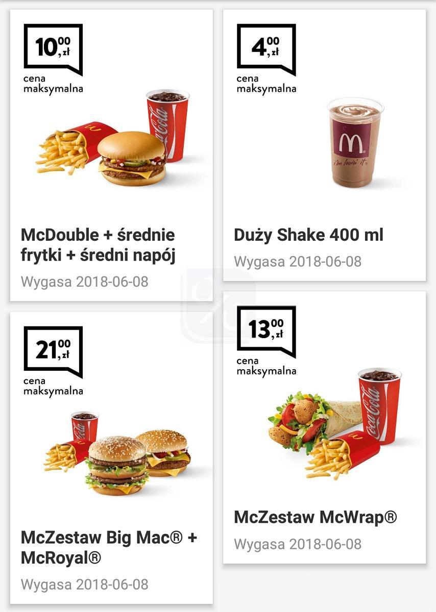 Gazetka promocyjna McDonalds do 08/06/2018 str.0
