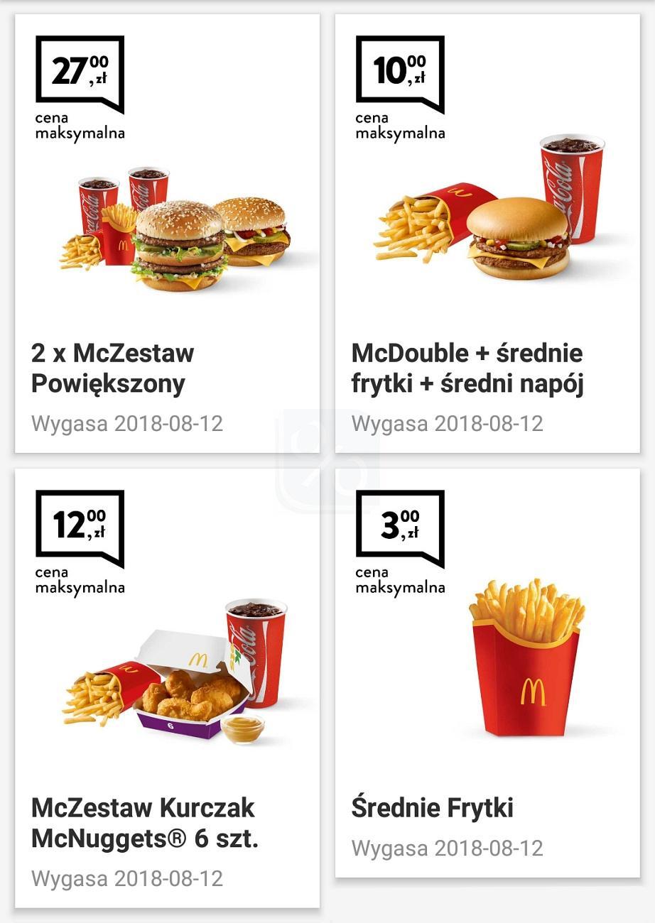 Gazetka promocyjna McDonalds do 12/08/2018 str.0