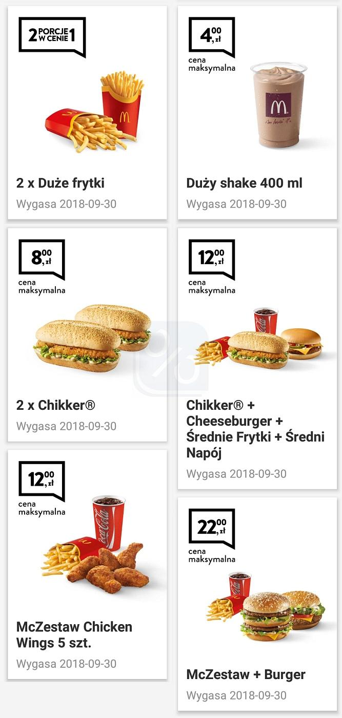 Gazetka promocyjna McDonalds do 30/09/2018 str.2