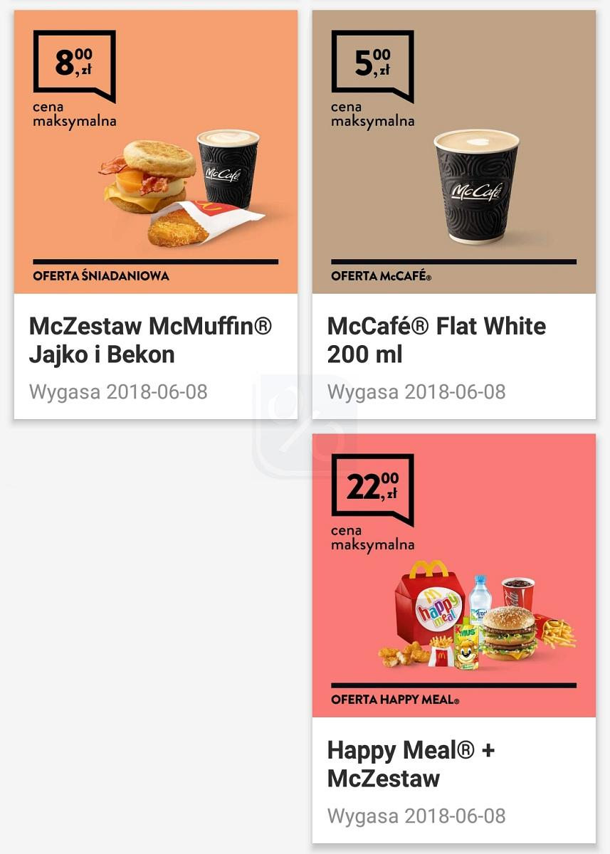 Gazetka promocyjna McDonalds do 08/06/2018 str.1
