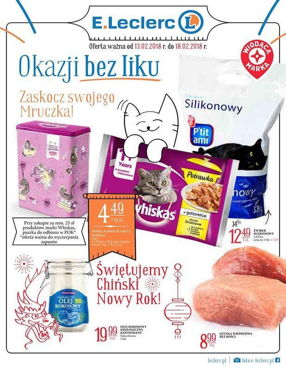 Gazetka promocyjna E.Leclerc do 18/02/2018 str.0