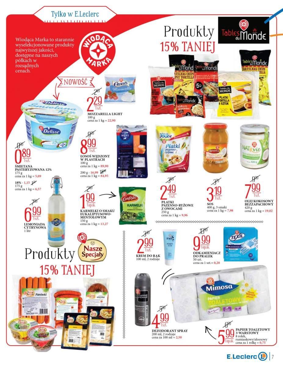 Gazetka promocyjna E.Leclerc do 29/07/2018 str.6
