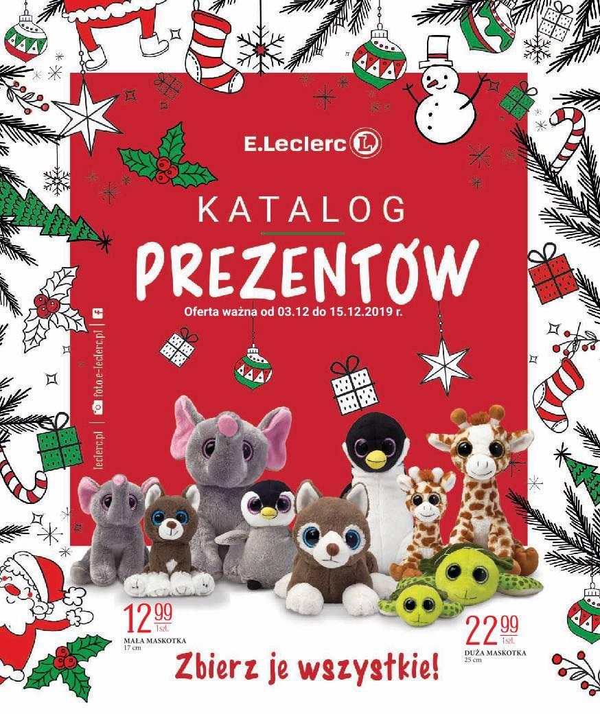 Gazetka promocyjna E.Leclerc do 15/12/2019 str.1