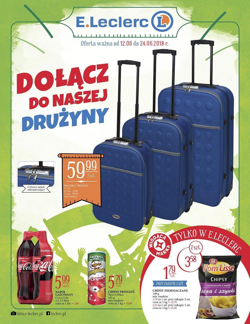 Gazetka promocyjna E.Leclerc do 24/06/2018 str.0