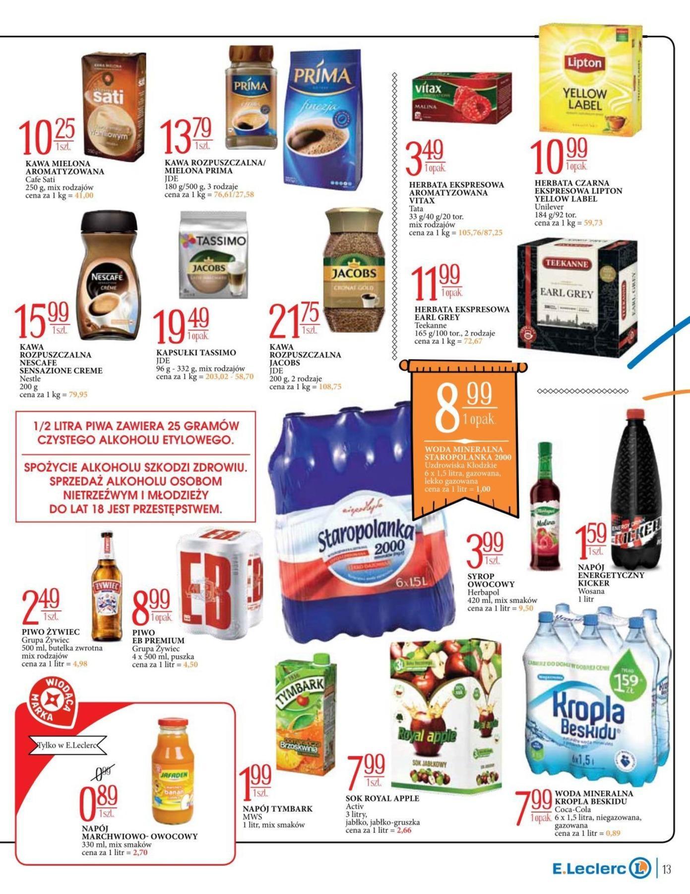 Gazetka promocyjna E.Leclerc do 17/11/2018 str.13