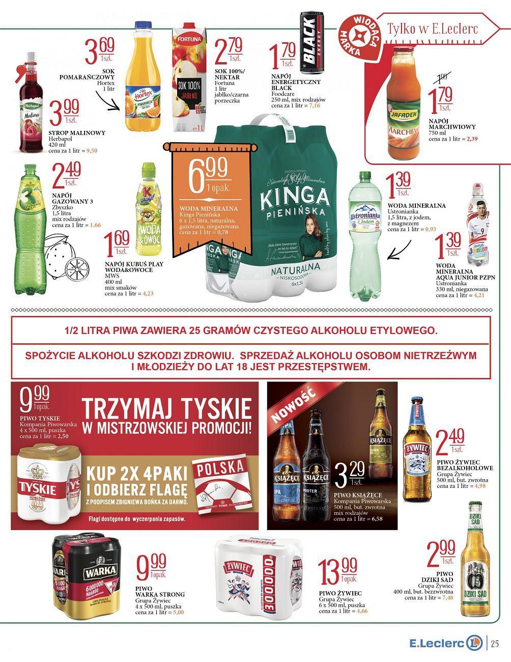 Gazetka promocyjna E.Leclerc do 24/06/2018 str.23
