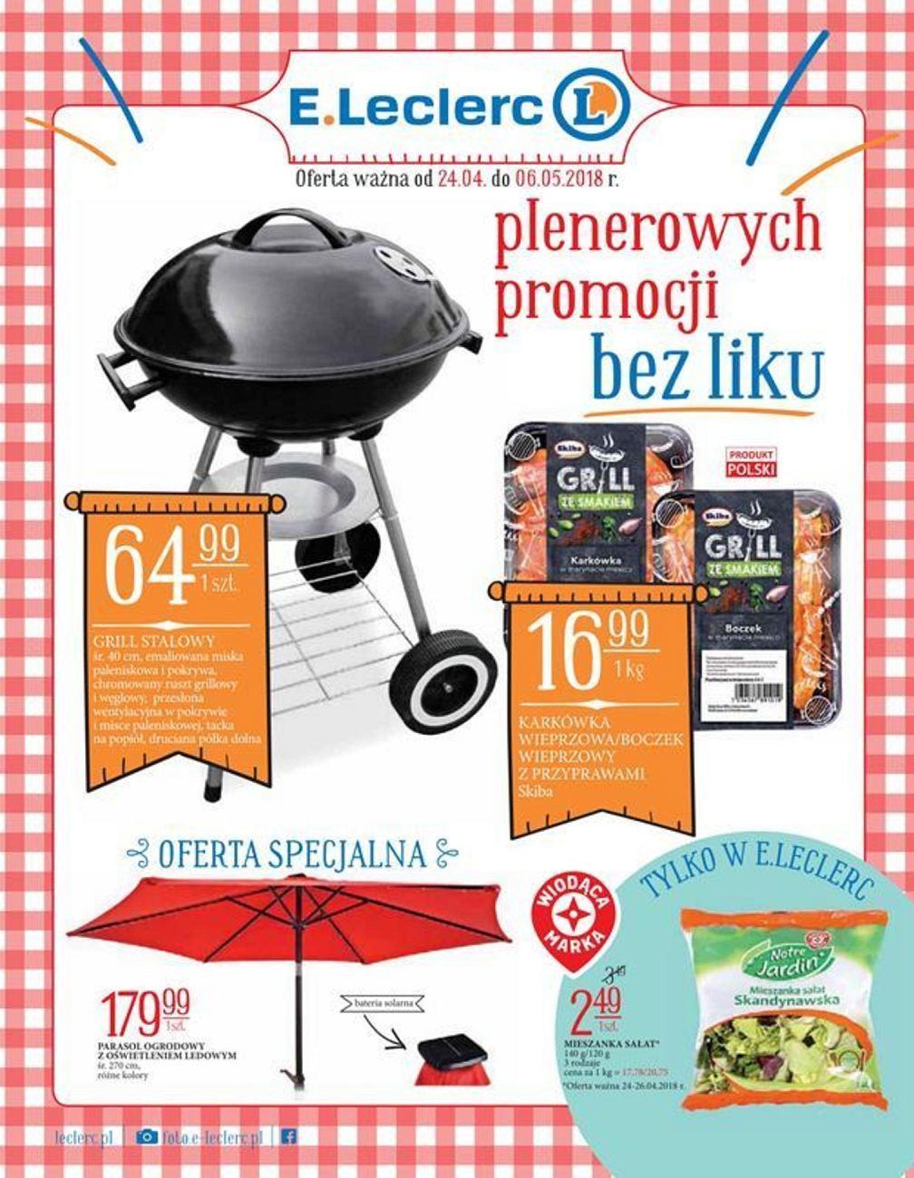 Gazetka promocyjna E.Leclerc do 06/05/2018 str.0