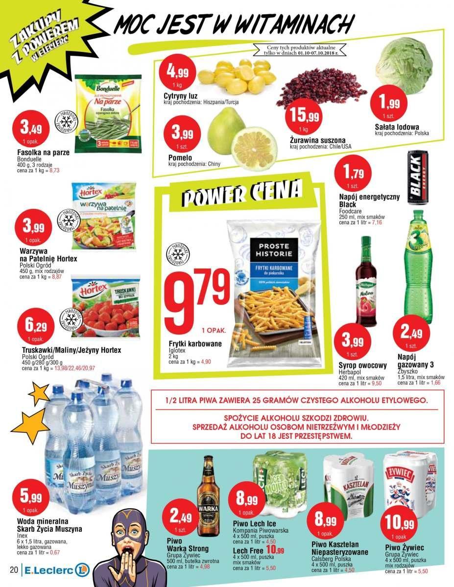 Gazetka promocyjna E.Leclerc do 13/10/2018 str.12