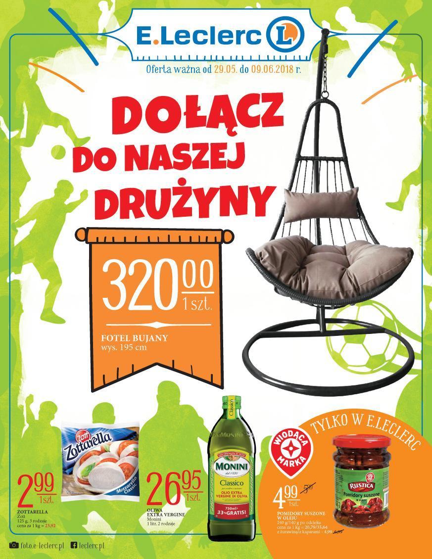 Gazetka promocyjna E.Leclerc do 09/06/2018 str.0