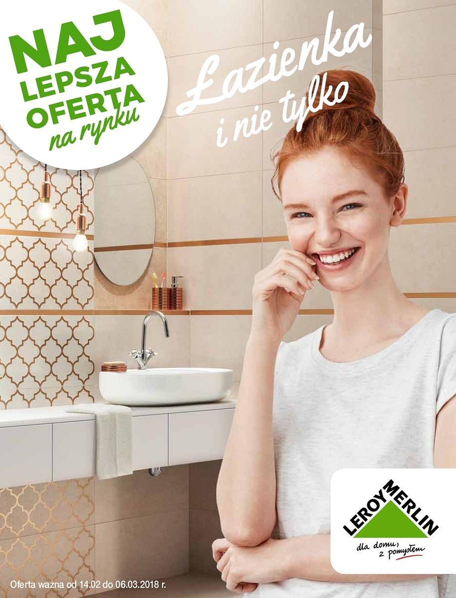 Gazetka promocyjna Leroy Merlin do 06/03/2018 str.0