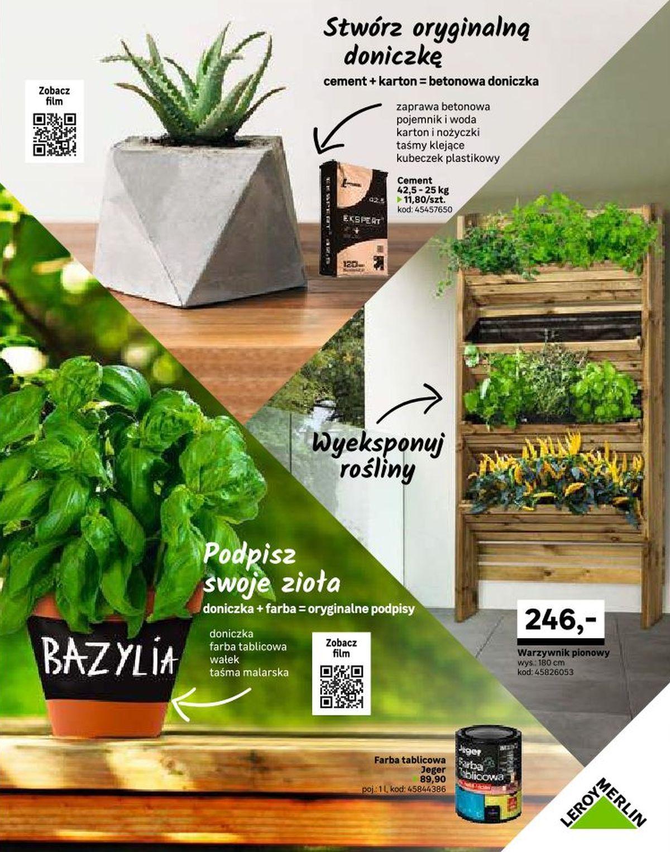 Gazetka Promocyjna I Reklamowa Leroy Merlin Katalog Ogród