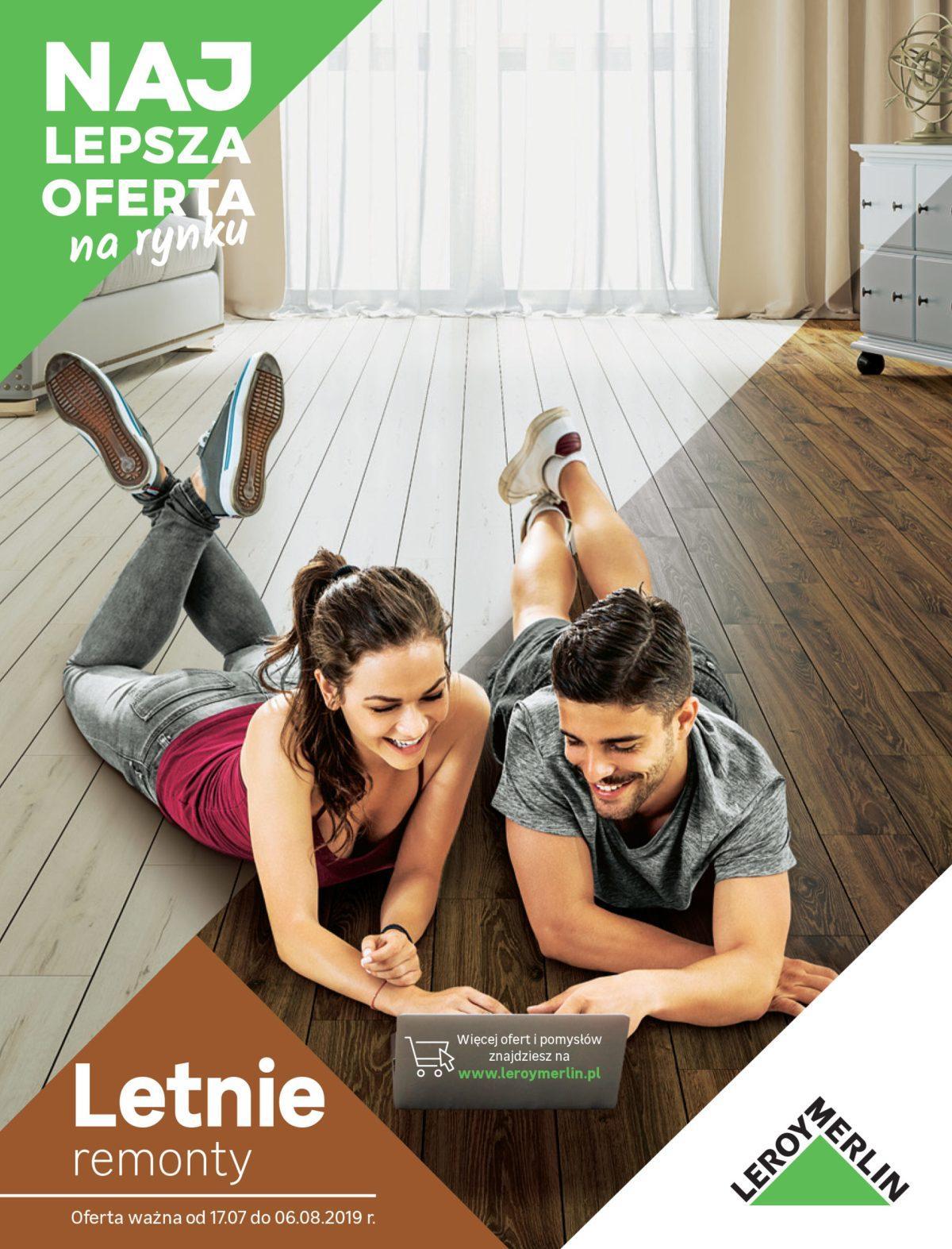 Gazetka promocyjna Leroy Merlin do 06/08/2019 str.1