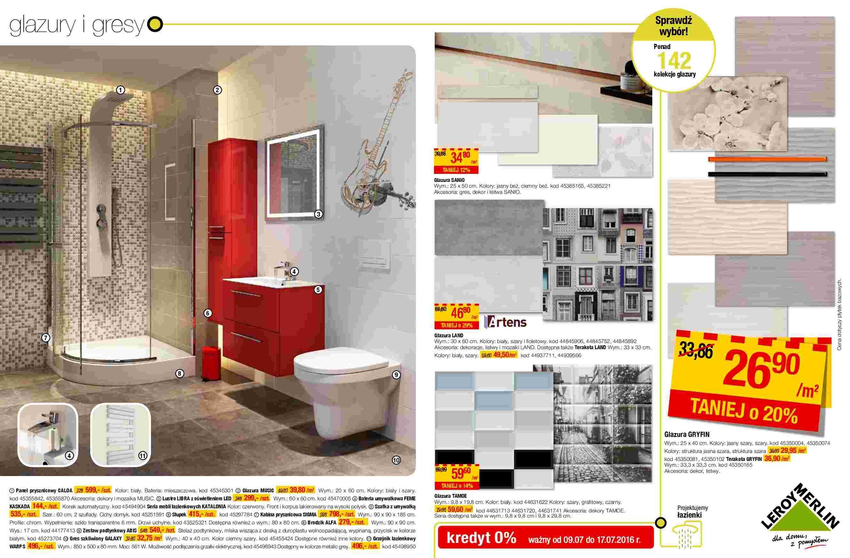 Gazetka Promocyjna I Reklamowa Leroy Merlin łazienki I