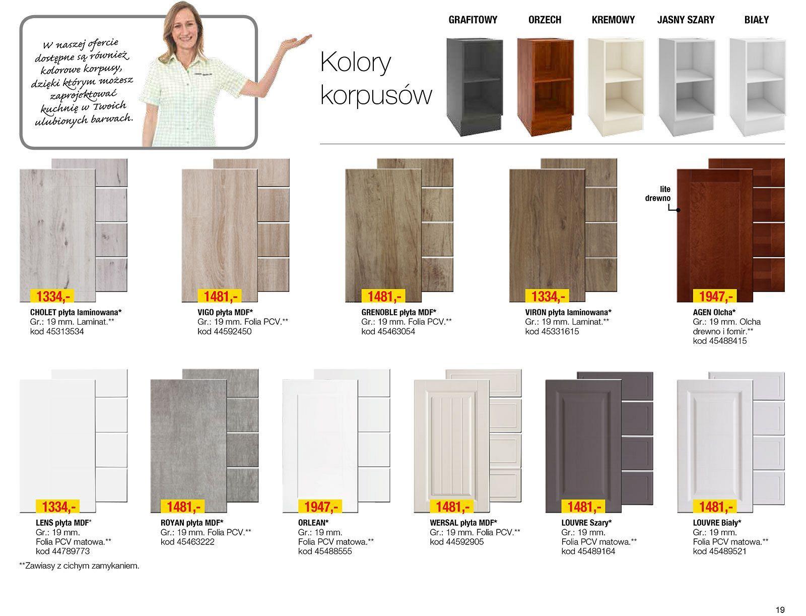 Gazetka Promocyjna I Reklamowa Leroy Merlin Katalog Kuchnie 2017