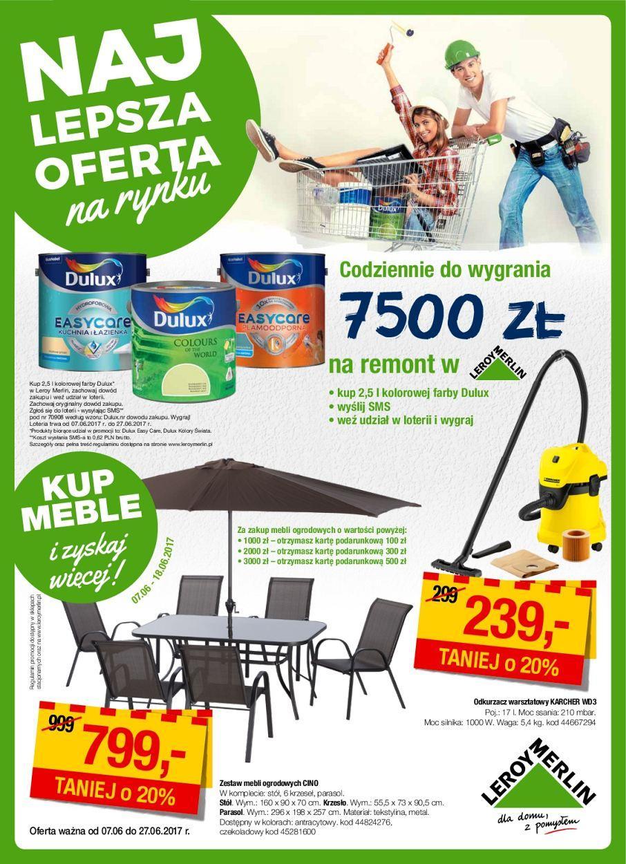Gazetka promocyjna Leroy Merlin do 27/06/2017 str.0
