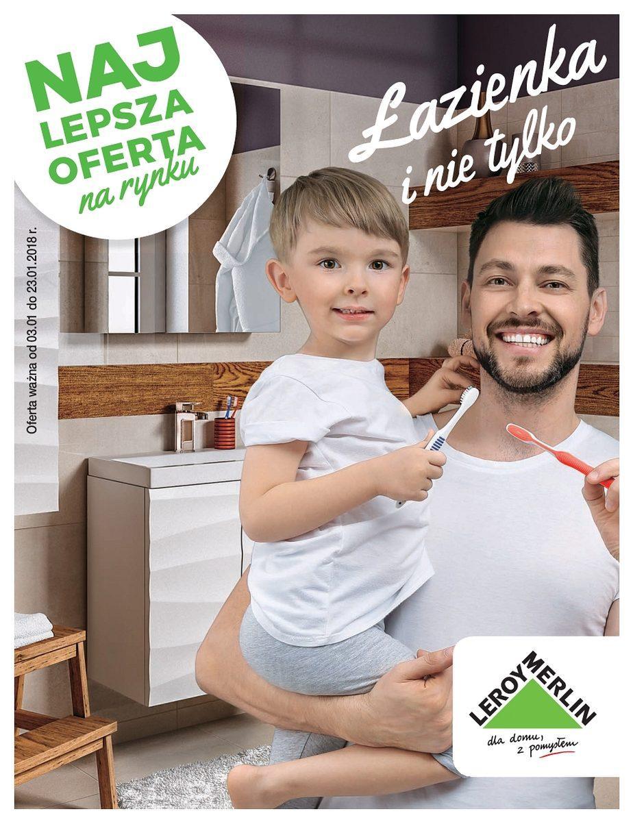 Gazetka promocyjna Leroy Merlin do 23/01/2018 str.0