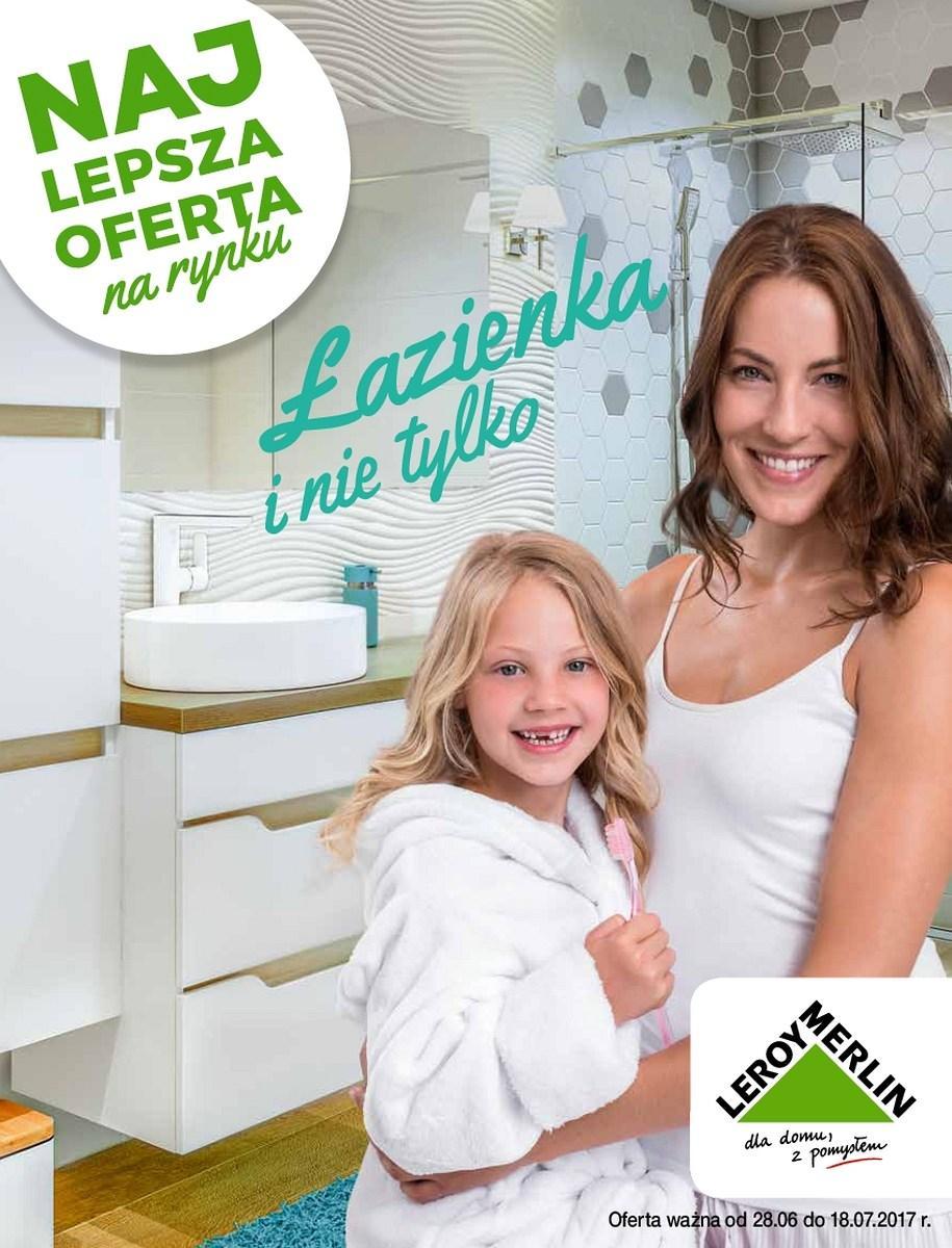 Gazetka promocyjna Leroy Merlin do 18/07/2017 str.0