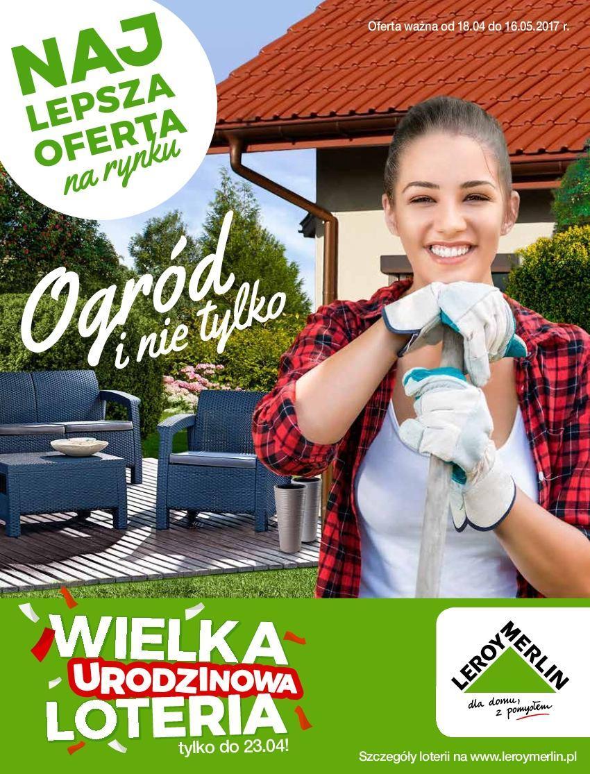 Gazetka promocyjna Leroy Merlin do 16/05/2017 str.0