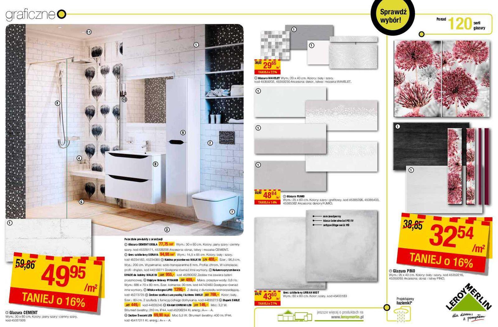 Gazetka Promocyjna I Reklamowa Leroy Merlin łazienka