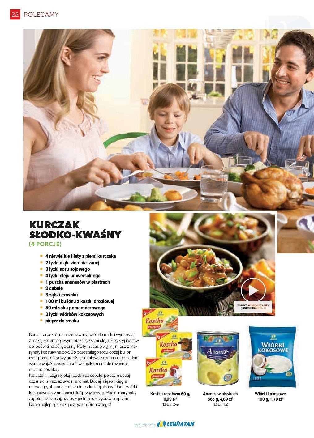 Gazetka promocyjna Lewiatan do 31/05/2018 str.22