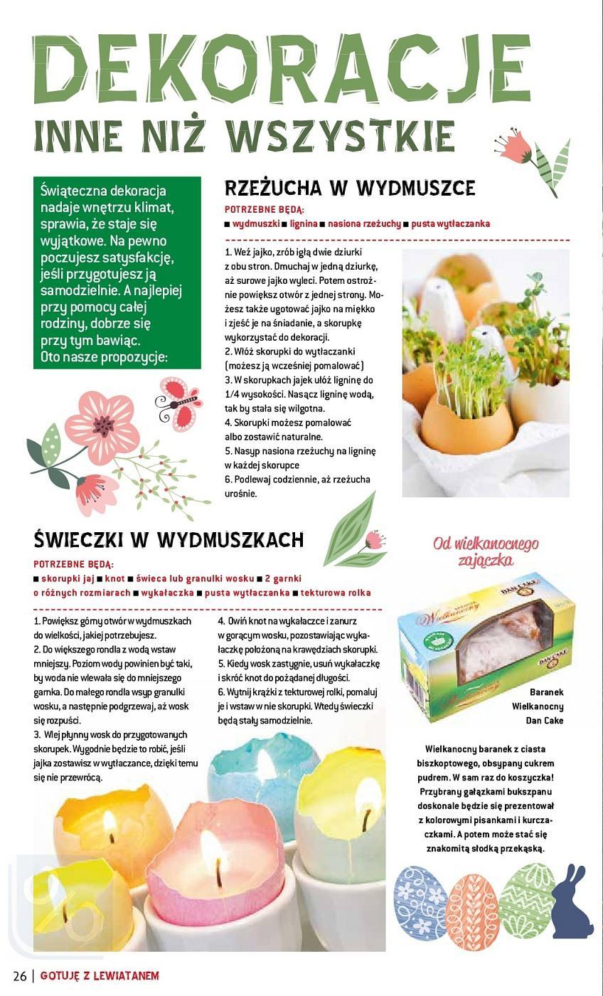 Gazetka promocyjna Lewiatan do 31/03/2018 str.25