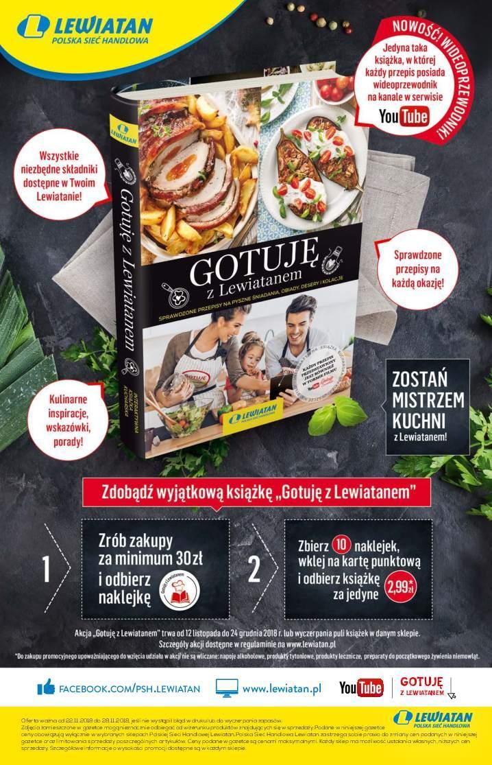 Gazetka promocyjna Lewiatan do 28/11/2018 str.5