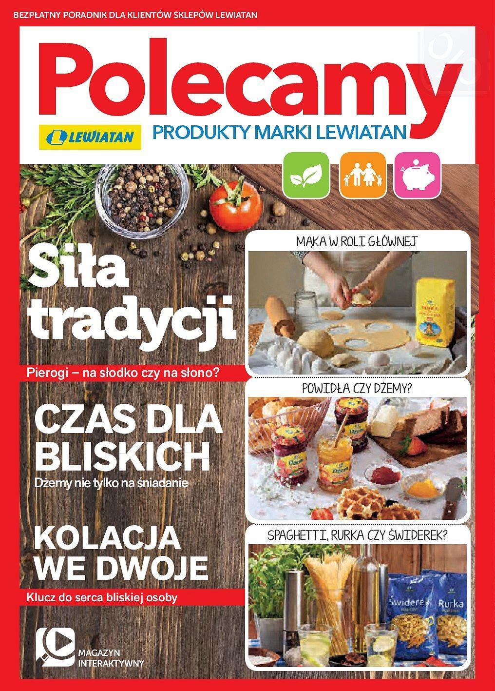 Gazetka promocyjna Lewiatan do 31/05/2018 str.1
