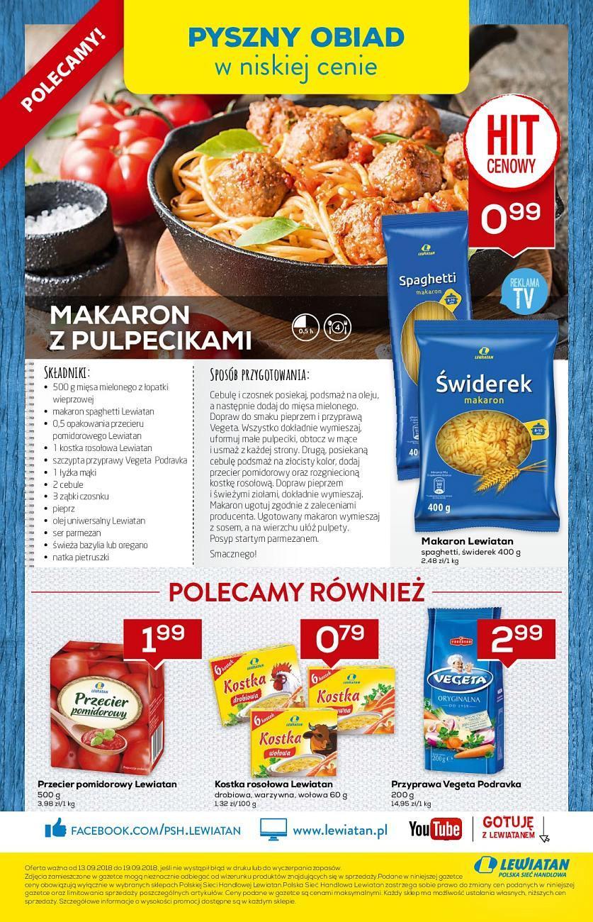 Gazetka promocyjna Lewiatan do 19/09/2018 str.4