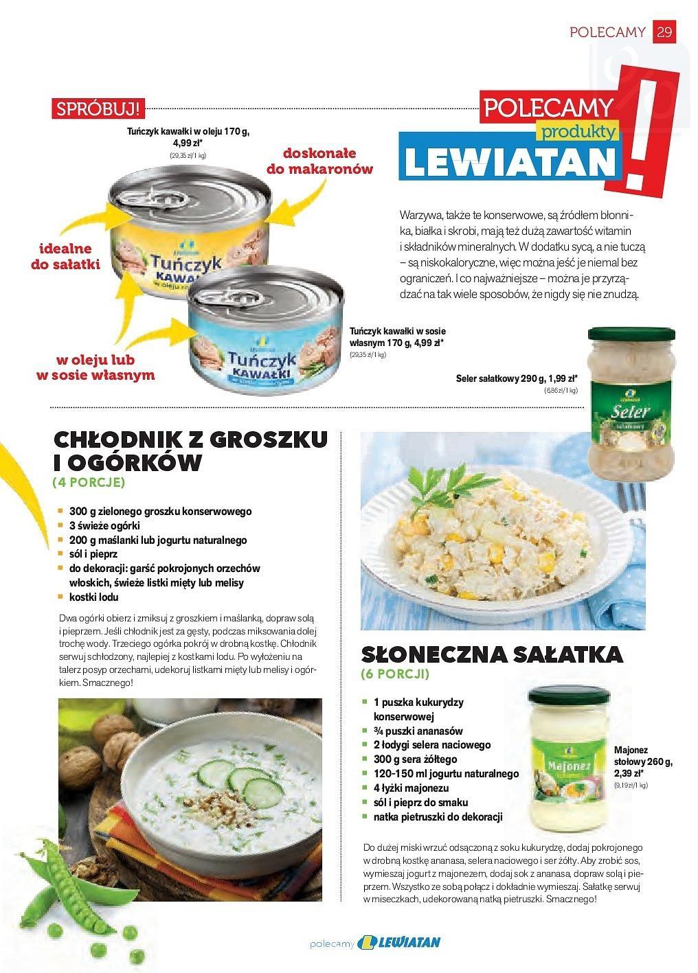 Gazetka promocyjna Lewiatan do 31/05/2018 str.28
