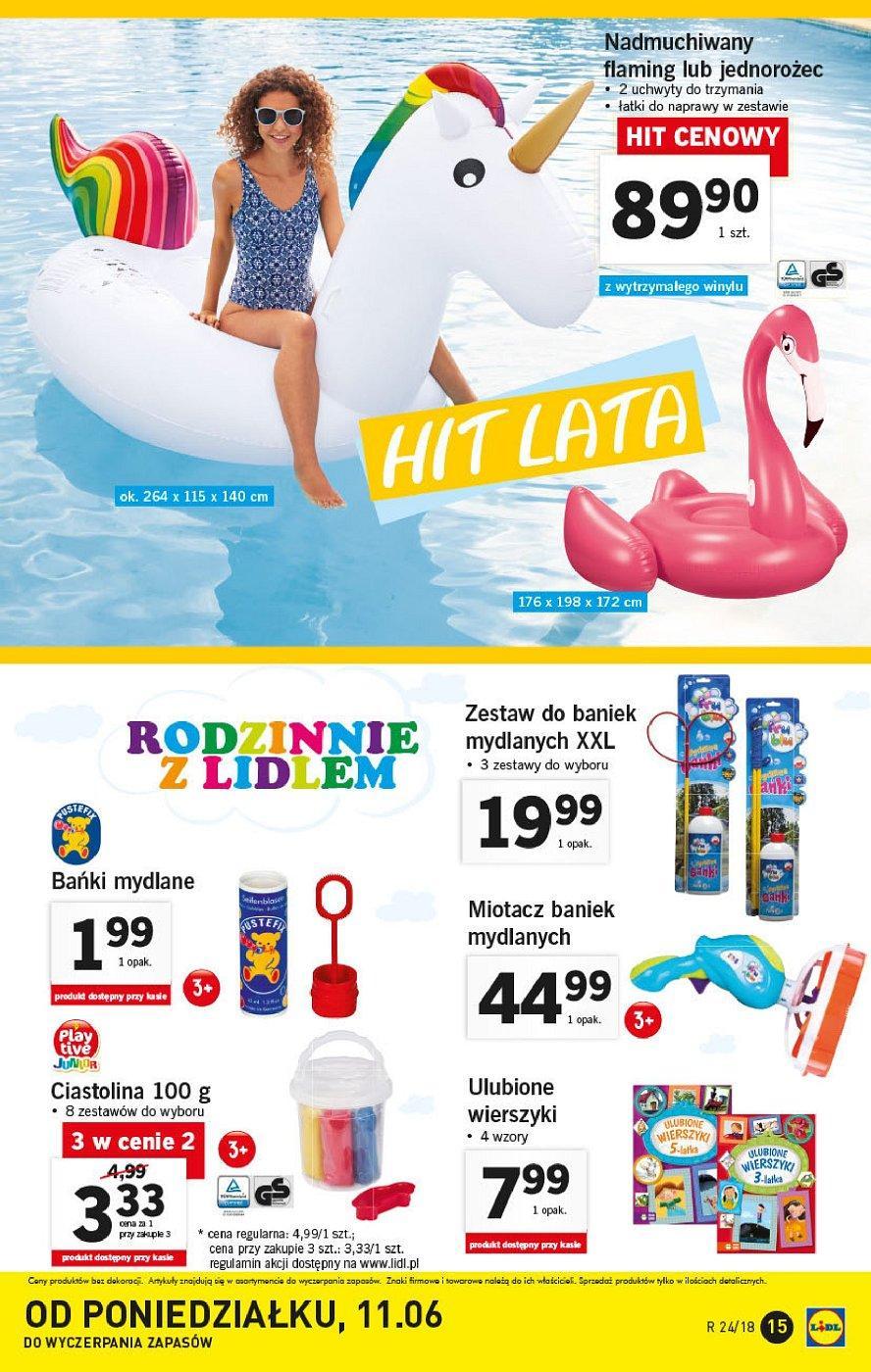 Gazetka promocyjna Lidl do 16/06/2018 str.15