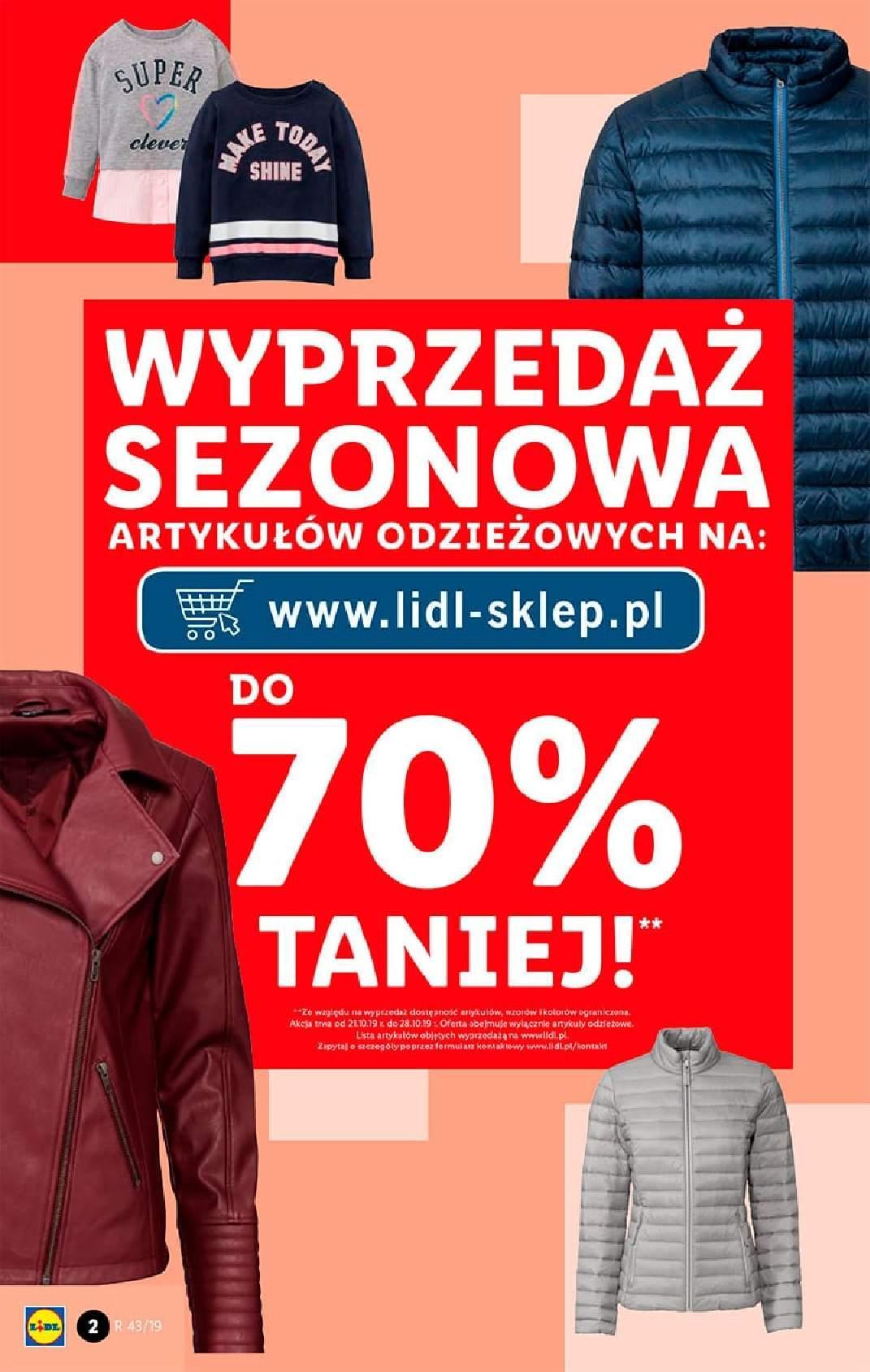 Gazetka promocyjna Lidl do 27/10/2019 str.2