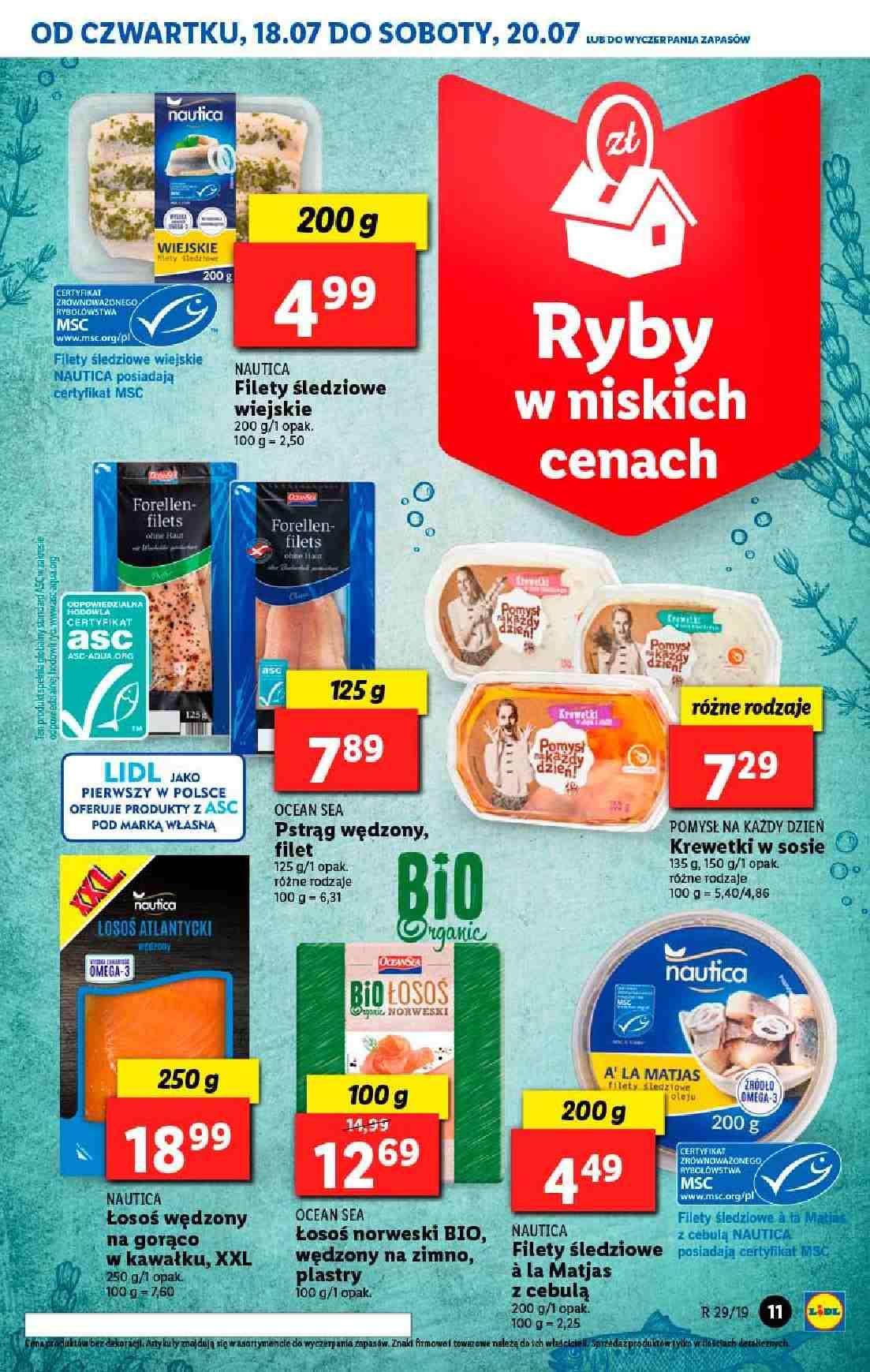 Gazetka promocyjna Lidl do 20/07/2019 str.11