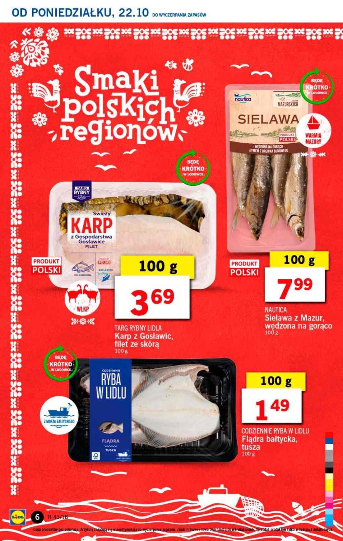 Gazetka promocyjna Lidl do 24/10/2018 str.6