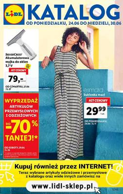 Lidl gazetka - od 24/06/2019 do 30/06/2019